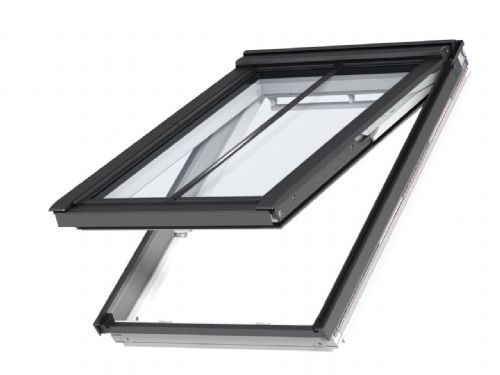 VELUX White-painted top-hung conservation package, recessed slate